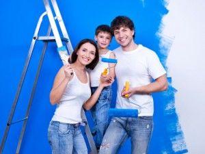 Family renovating