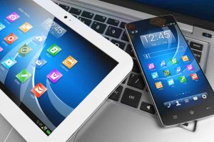 phone laptop tablet