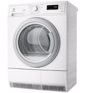 The first Electrolux model of clothes dryer we ll look at is the 7kg  condenser dryer. It has 10 cycle programs a37673605b