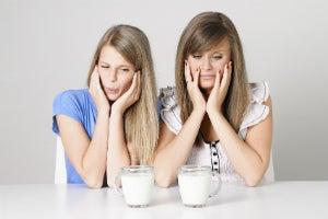 aversion to milk