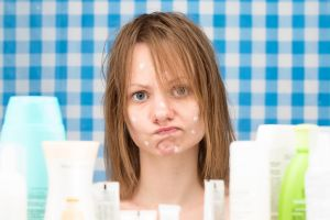 Allergy, acne and rosacea-prone skin