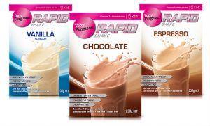 rapid weightloss shakes