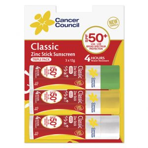 Cancer Council Zinc Stick SPF 50+