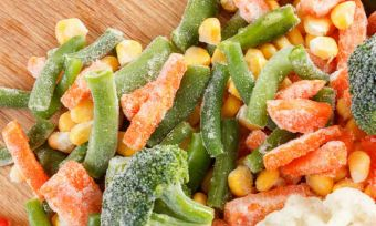 Frozen vegetable myths debunked