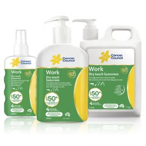 Cancer Council Work Sunscreen SPF 50+