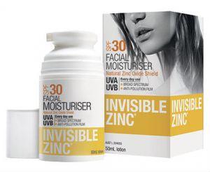 SPF 30 invisible zinc
