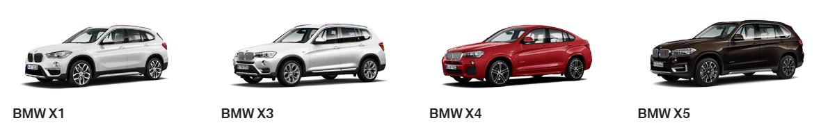 BMW XSeries
