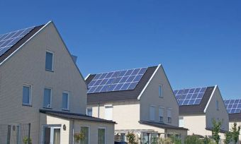 Solar Panels on roof tops
