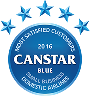 Award for Small Business Domestic Airlines in 2016