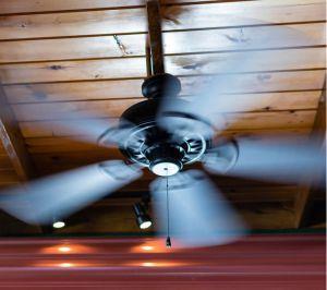 ceiling fan air con compared