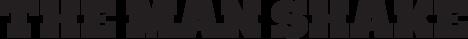 man shake logo