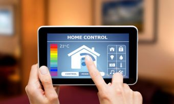 Turning on and off your home appliances using a touch pad control.