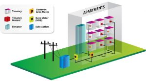 embedded network of electricity