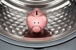 washing machine piggy bank