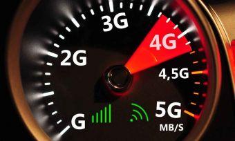Speedometer and 4G high speed internet