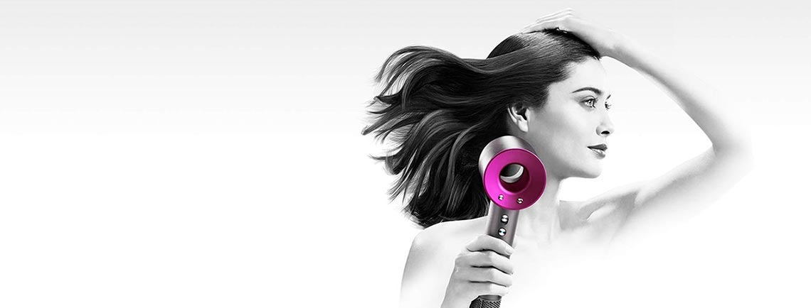 Dyson Supersonic, the hair dryer, re-thought