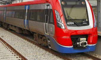 Adelaid metro train