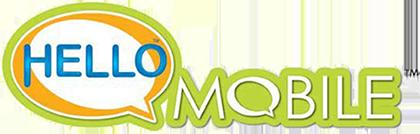 Hello mobile logo