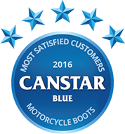 2016 Award for Motorcycle Boots