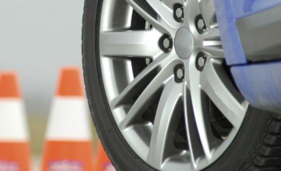 car tyre course