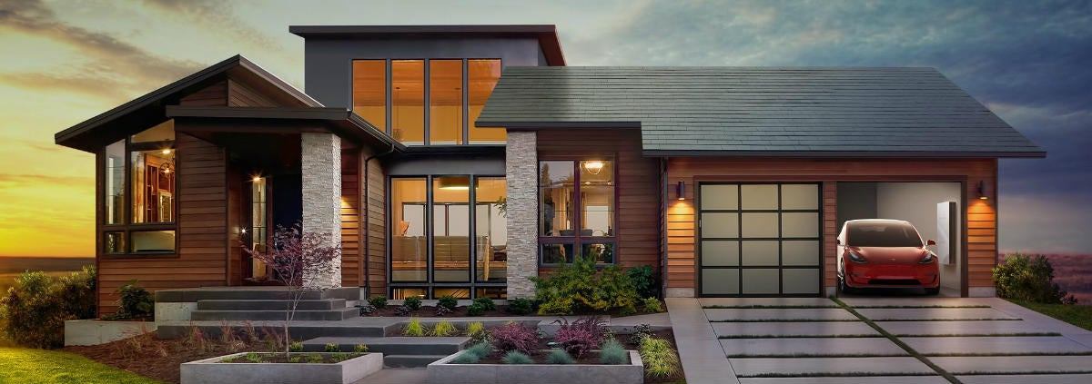Tesla S Next Step Solar Tiles And Powerwall 2 Canstar Blue