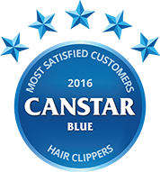 2016 Award logo for Hair clippers
