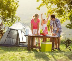 camping essentials tent