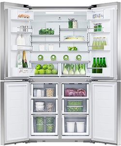 Fisher & Paykel 605L Quad Door Fridge RF605QDUVX1