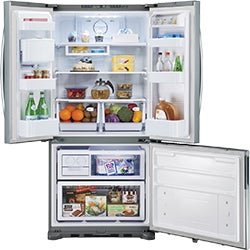Samsung 533L French Door Fridge SRF533DLS