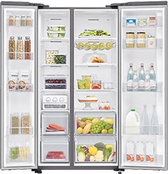 Samsung 696L Side-by-Side Refrigerator SRS693NLS