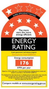 energy saving ratings