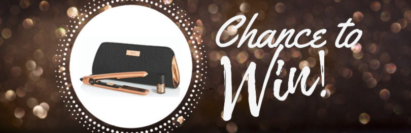 """Chance to Win"" a ghd hair straightener"