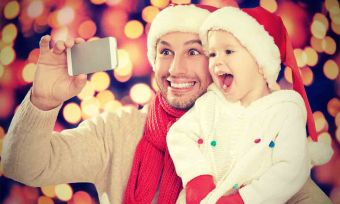 selfe in Christmas