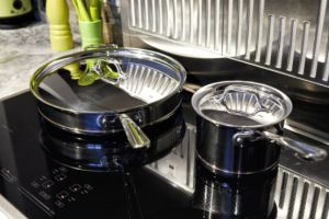induction heat cooking