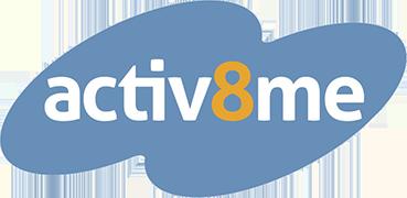 Activ8me Broadband logo