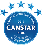 2017 award for restaurant delivery service