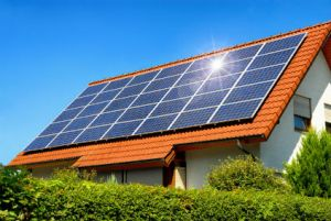 renting a property with solar panels