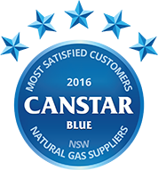 2016 Award for Natural gas suppliers NSW