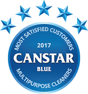 2017 award for multipurpose cleaners