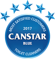 2017 award for toilet cleaners