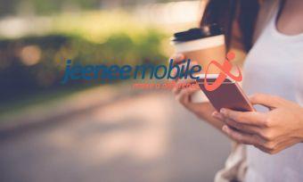 jeenee mobile on phone