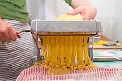 Fresh home-made pasta