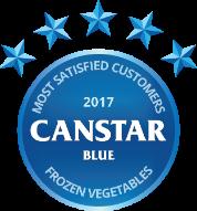 2017 award for frozen vegetables