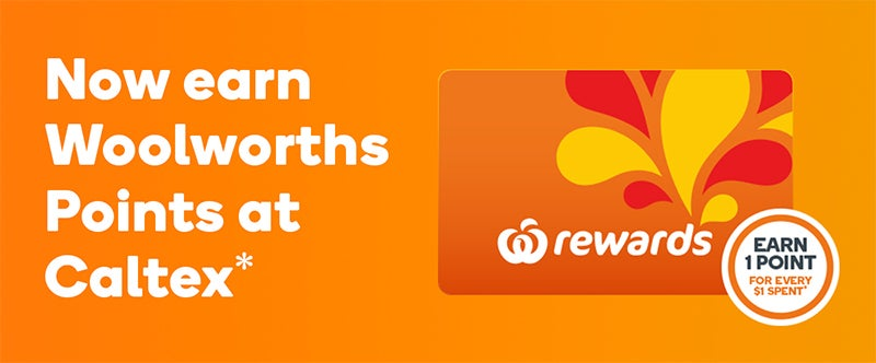 Woolworths Rewards at Caltex