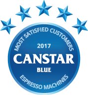 2017 award for espresso coffee machines