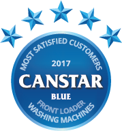 2017 award for front loader washing machines