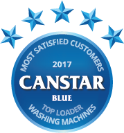 Award for Top Loader Washing Machines in 2017