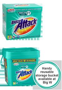 Biozet Attack Laundry Powder