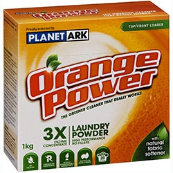 Orange Power Laundry Powder