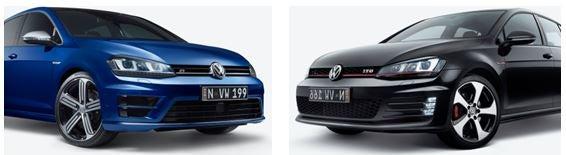 VW golf performance vehicles